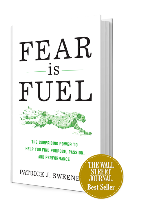 Patrick J Sweeney, Certified Virtual Speaker, Fear Guru, Best-Selling Author, Entrepreneur, Adventurer